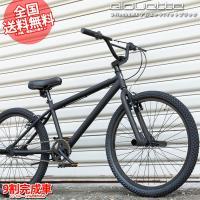 BMX Sayla TOKYO CUSTOM 24インチ自転車(マットブラック)【Code Name:alouette】
