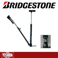 BRIDGESTONE(ブリヂストン) ■スポーツバイクに適した空気圧ゲージ付きフレームポンプ。 ■...