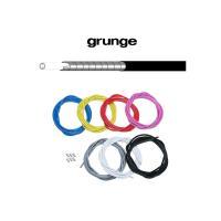GRUNGE(グランジ)  ■  インナーワイヤーの抵抗を軽減するライナー入りのブレーキアウター。 ...