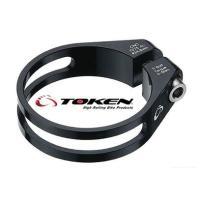 TOKEN(トーケン)  ■ 限界まで肉抜きされたシートバンドにチタンボルトを組み合わせた究極の軽量...