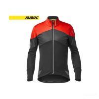 (特別セール)マヴィック マビック(MAVIC) コスミック サーモ ジャケット <ブラック/フィリーレッド>