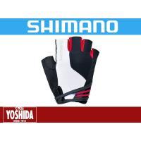 SHIMANO(シマノ)  ■快適な肌触りと高い弾性を持った最新の合成皮革を手のひらに採用し、グリッ...