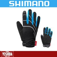 シマノ(SHIMANO)  防風性に優れたウインドストッパーを採用。肌側に施した起毛加工が空気層を作...