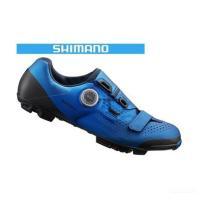 (キャッシュレス還元対象)シマノ(SHIMANO) XC5(SH-XC501)ブルー MTBシューズ 限定モデル