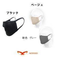 (マスク)再使用可能タイプ ナルーマスク FUプラス 高機能フィルターマスク(花粉対策)