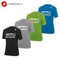 ■商品説明 柔らかいコットン・ポリエステル混紡生地で作られた丸首 T シャツです。Castelli ...