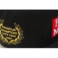 フランクリン マーシャル キャップ FRANKLIN&MARSHALL ユニセックス 男女兼用 フラットキャップ ブラック