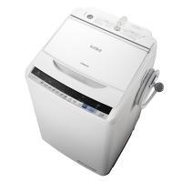 生活家電ディープライス - 時間指定不可 BW-V80B-W HITACHI 日立 ビートウォッシュ 洗濯・脱水容量 8kg 全自動洗濯機 ホワイト|Yahoo!ショッピング