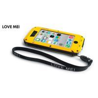 史上最強 防塵、耐衝撃のメカニックなデザインの超かっこいいタフネスiPhone5Cケースです。LOV...