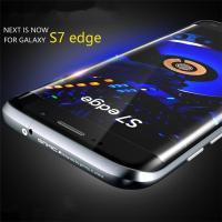 新登場GALAXY S6/S7 edge ケース  専用9H液晶強化ガラスフィルム付き!  米国発の...