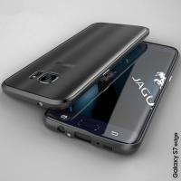 新発売〜バックプレート付きタイプ for GALAXY S7 edge  ●全面保護強化ガラス付き!...