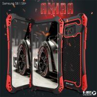 アミラAMIRA for GalaxyS8/S8+   耐衝撃のメカニックなデザインの超かっこいいタ...