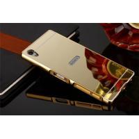 ◆:SONY Xperia Z5/Z5 Premium/Z5 Compact PC素材鏡面バックプレ...