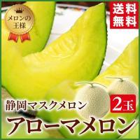 果物の王様といわれるマスクメロンの最高峰、静岡県産アローマメロン。 季節を問わず、大人から子供まで、...