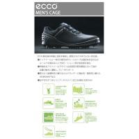 大特価・送料無料 エコー ケージ ゴルフシューズ メンズ ECCO CAGE GOLF 132504|daiichigolf|03