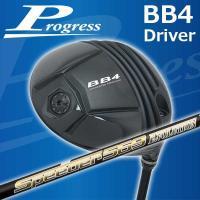 特注カスタムクラブ Progress プログレス BB4 ドライバー 藤倉スピーダーエボリューション4 シャフト|daiichigolf