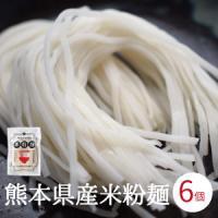 【メール便全国送料無料】  熊本県産のヒノヒカリから作った「米粉麺」です。 小麦粉の代用として今注目...