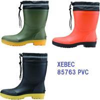 ■商品説明 水を使うあらゆる職場に対応する安全長靴!  ・パーツの貼り合わせのないPVCインジェクシ...