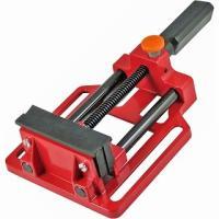 ◆木・鉄などの加工物をしっかり固定 アルミニウム製のバイスです。作業台などにボルト(別売)などで取り...