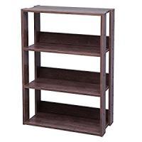 ◆位置調整が可能な可動式棚板。置くものに合わせて約14cm間隔で棚板の位置が調整可能です。◆サイズ:...