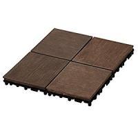 ◆プレミアウッドパネルデッキブラウン◆木の風合いを表現した温かみのあるデザインのデッキ・エンドパーツ...