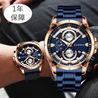 クロノグラフ腕時計 防水 4タイプ 2020海外輸入モデル クォーツ