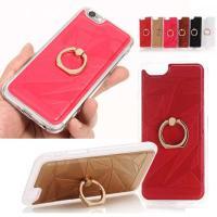 iphone6 バンパーケース iphone6ケース バンパー スマホリング付き  DM便送料無料