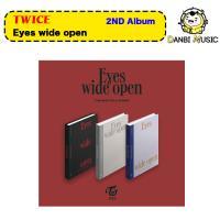 【3種選択】初回ポスター折って発送 TWICE 2集アルバム Eyes wide open トゥワイス THE 2TH ALBUM 韓国音楽チャート反映 【送料無料】