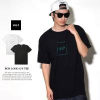 HUF ハフ Tシャツ メンズ 半袖 BOX LOGO S/S TEE (TS00323) 2018 新作