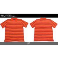 SEAN JOHN ショーンジョン ポロシャツ 半袖 メンズ ボーダー B系 ストリート ファッション SK100510
