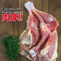 肉厚骨付き鶏もも肉ジャンボサイズ 1本入り冷凍330g以上 チキンレッグアメリカ産 モモ フライド 国産並みの肉厚 若鶏肉