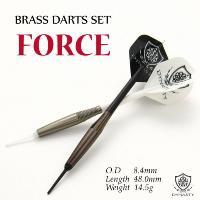 ダーツ セット 初心者 BRASS DARTS SET FORCE フォース (DYNASTY)|darts-ya