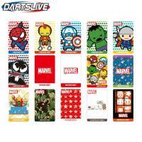 ■商品仕様  内容量:1枚  ■商品説明 マーベルコミックの人気キャラクター達がダーツライブカードに...