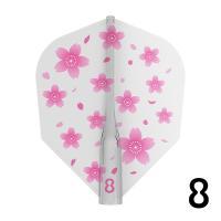 フライト ターゲット エイトフライト TARGET 8FLIGHT 桜日和 CLEAR 8フライト サクラ 花(ポスト便OK/2トリ)