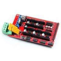 Arduino Mega とかさねてつかう 3D プリンタ用ボードです.このボードにさらにステッピン...