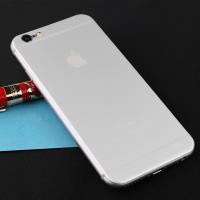iPhone6/6Plus用 3D曲面 チタン製バックパネル フルカバー背面フィルム  本体とピタッ...