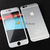 iPhone6 6Plus フルカバータイプ チタン製 強化ガラスフィルム  チタンと強化ガラスで作...