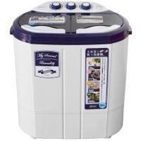 2台目に買う洗濯機 コンパクトだからちょこっと洗いで節水、節約 分けて洗いたい洗濯物専用に 電源(コ...
