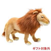 リアルな ライオン ぬいぐるみ たっぷりとしたたてがみが醸し出す貫禄 サイズはお手頃 かわいい ぬい...
