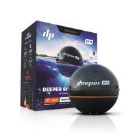 Deeper Pro ワイヤレススマート魚群探知機 は、iPhoneやスマートフォンの高精細なカラー...