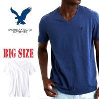 大きいサイズ メンズ AMERICAN EAGLE アメリカンイーグル   AEOレジェンドVネック...