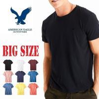 大きいサイズ メンズ AMERICAN EAGLE アメリカンイーグル   AEOレジェンドクルーネ...