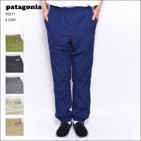 Patagoniaの「メンズ・バギーズ・パンツ」。   DWR(耐久性撥水)加工と50+ UPF日焼...