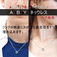 ◆信頼の日本製◆安心のメーカー直販◆  『A+ Customize』ABYネックレス。 ペンダントに...