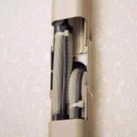 因幡電工 スリムダクトSD 分岐ジョイント 壁面取り出し用 アイボリー SJA-100-I