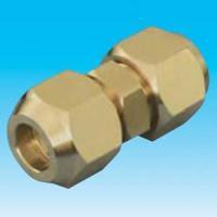 因幡電工 10個セット フレアユニオン ナット付 適合銅管サイズ:9.523/8 新冷媒2種対応 FUN-3B_set|dendenichiba