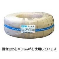 富士電線 売り出し ラバロンVCT いよいよ人気ブランド 600V ソフトビニルキャブタイヤ丸形ケーブル 5.5mm2 100m巻き 3心 ラバロンVCT5.5×3C×100m