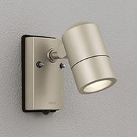 オーデリック LEDスポットライト 防雨型 白熱灯50W相当 電球色 マットウォームシルバー 人感センサ付 OG254483LD セール特別価格 お洒落