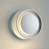 コイズミ照明 LED一体型ポーチ灯 E.L.H. 激安特価品 防雨型 贈呈 白熱球60W相当 シルバーメタリック 電球色 AU43721L 調光タイプ