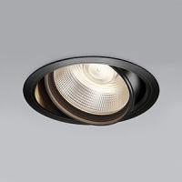 コイズミ照明 LEDユニバーサルダウンライト 明るさ切替タイプ 電球色 埋込穴φ150mm 照度角15°電源別売 ブラック XD91072L|dendenichiba